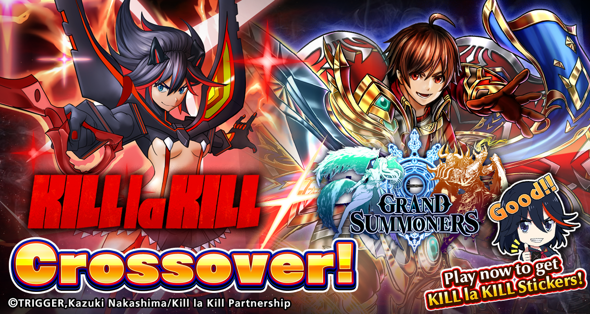 KILL la KILL & Grand Summoners: Official Collaboration Website
